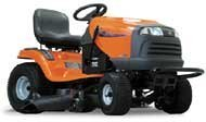 Husqvarna Riding Lawn Mower with 15 HP Kawasaki V-Twin OHV Engine , 42in. Deck