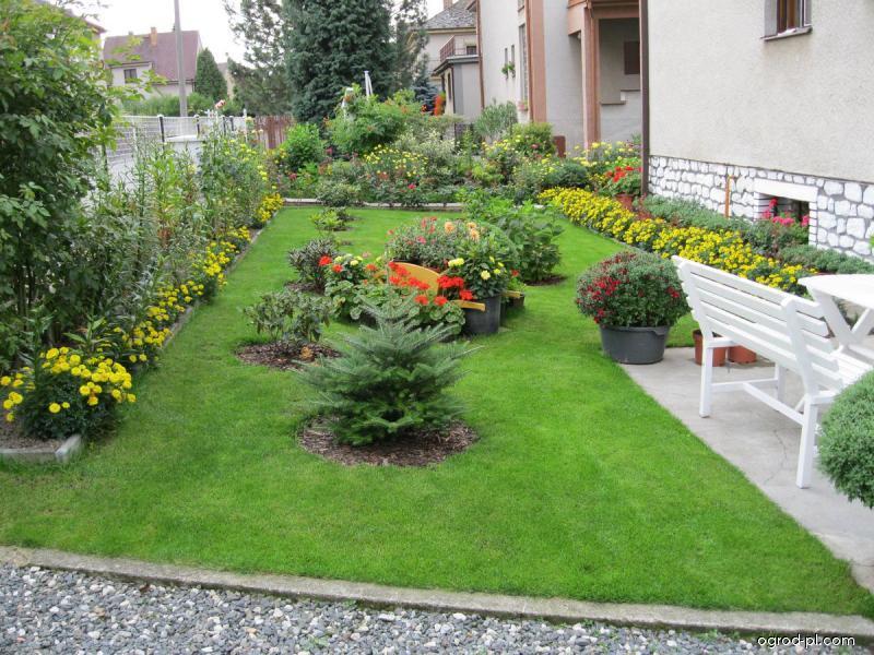 Současná zahrada