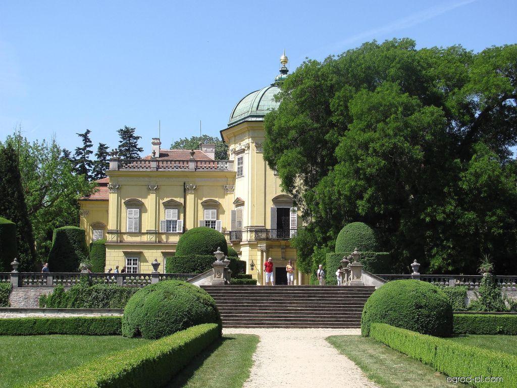 Park Buchlovice - zámek