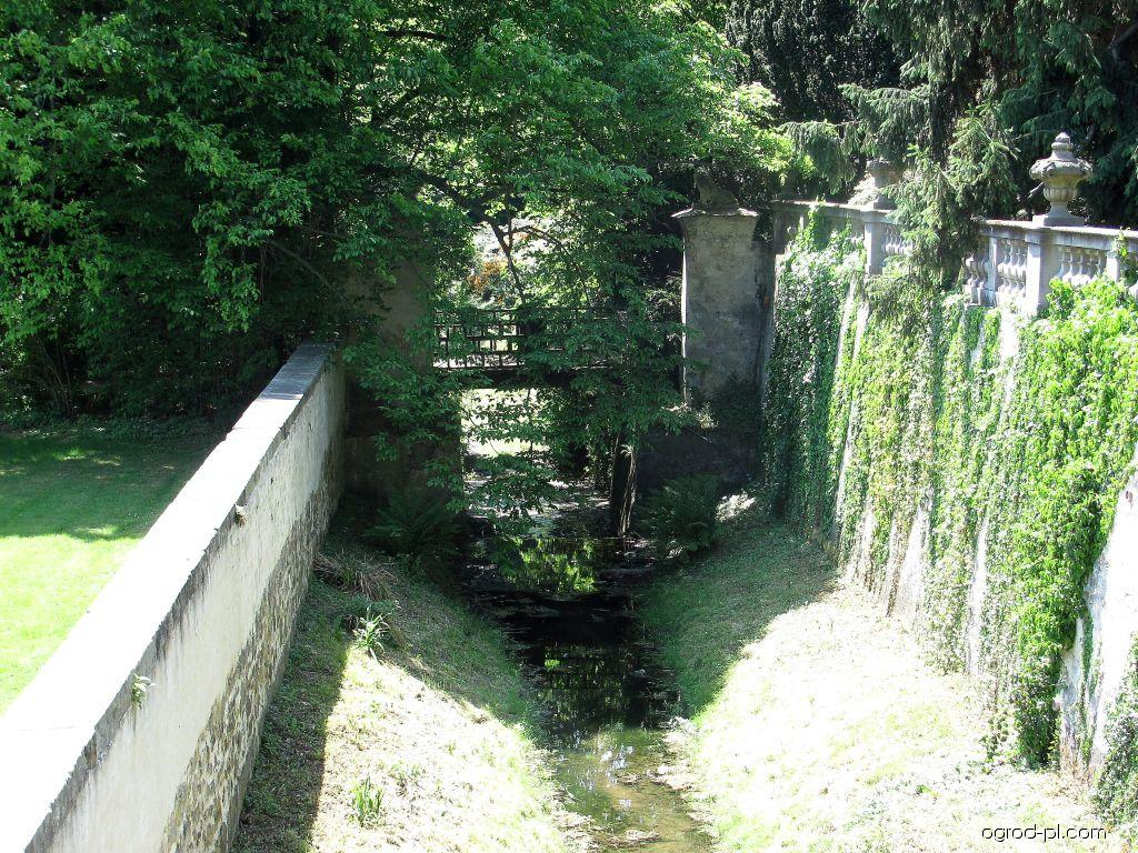 Park Buchlovice - Vodní příkop