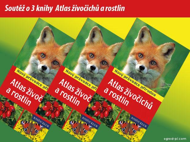 Atlas živočichů a rostlin - soutěž