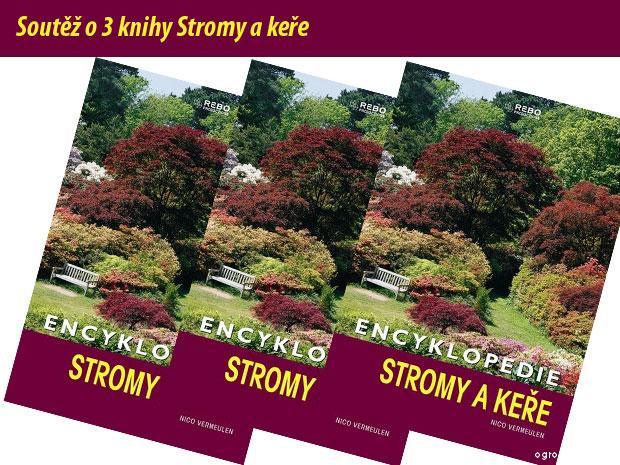 Encyklopedie Stromy a keře - soutěž